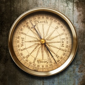 Setting your compass