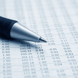 Paper financial report