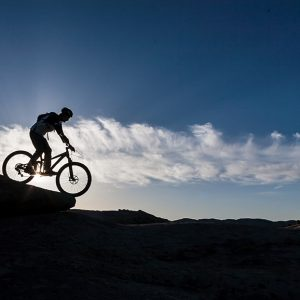 Mountain biking for fun