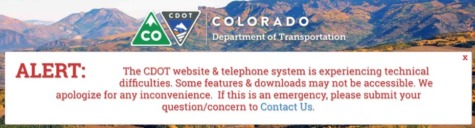 Ransomware attack on CDOT