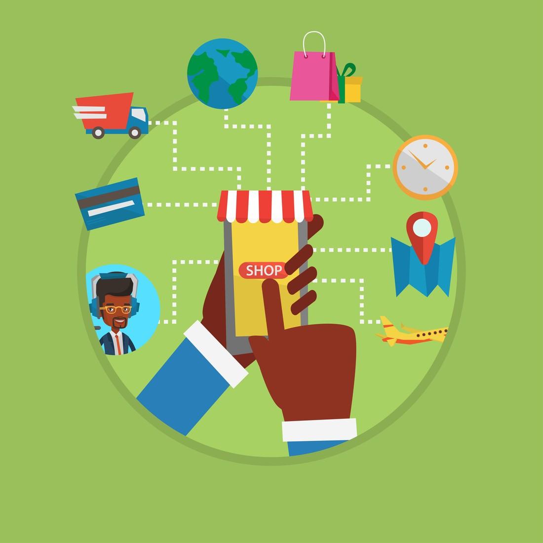 Securing website for online shoppers